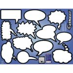 Dry Erase Thought Bubbles – A Visual Aid for Good Ideas!