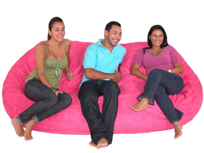 Huge Hot Pink Bean Bag Chair