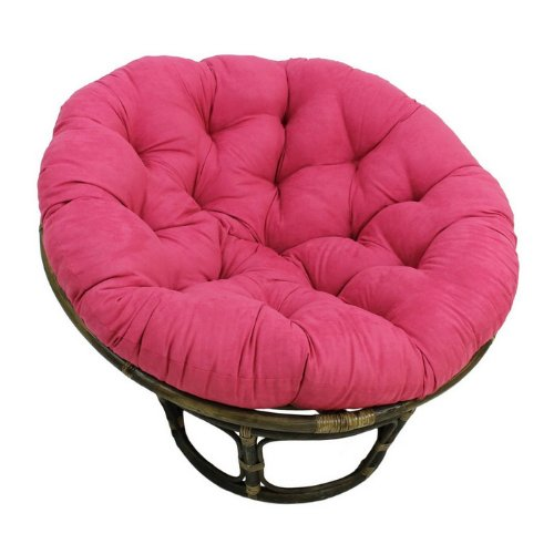 funky hot pink chairs rattan bean bag or for kids