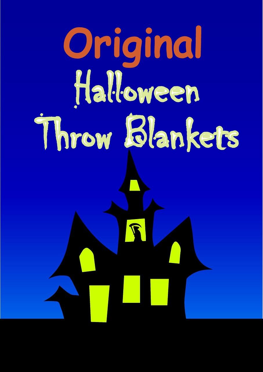 Original Halloween Throw Blankets