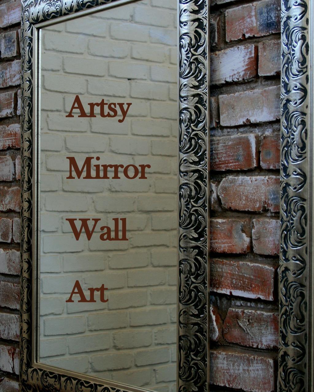 Unique Artistic Mirrored Wall Art