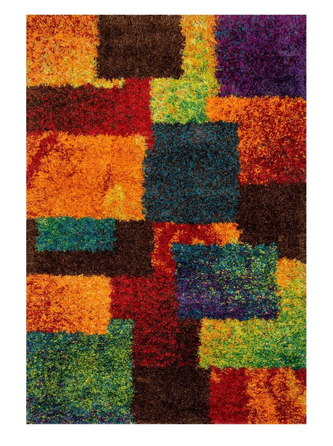 colorful area rugs multi colored rainbow geometric area rug funk this house 12630