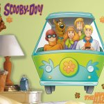 Scooby Doo Gang Wall Decals For Cartoon Fans of All Ages