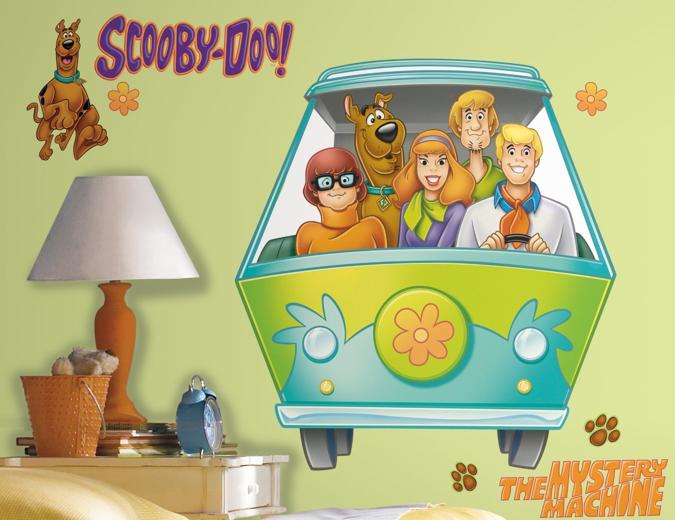 Scooby Doo Gang Wall Decals - Creative,Colorful and Fun