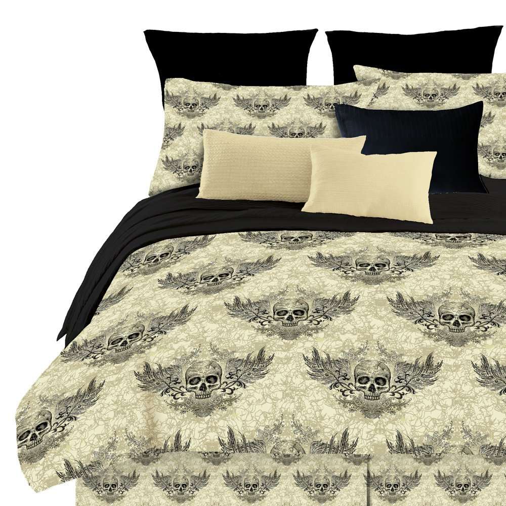 Freaky Amp Fun Skull Bedding In A Bag Funkthishouse Com