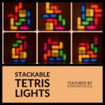 Stackable Tetris Lights