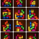 Funky Tetris Lights – Stackable with LED's!