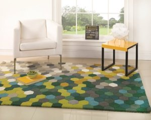 Area Rugs With Green In Them A Funky Creative Collection