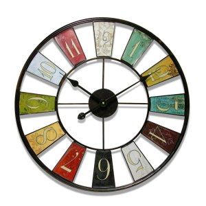 Funky Colorful Wall clocks