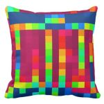 Funky Colorful Pillows