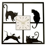 Funky Wall Clocks that are Off the Wall