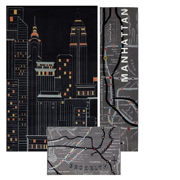 New York City Area Rug