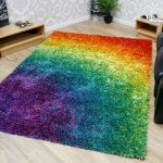 Funky Rainbow Colored Area Rugs to Cheer Up Any Space!