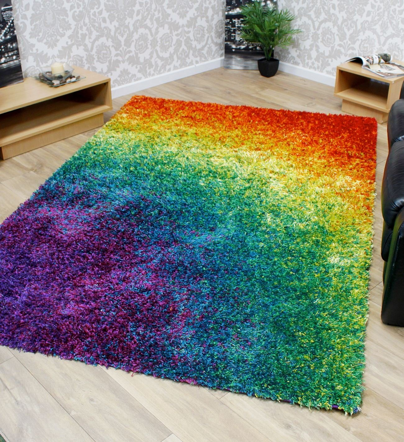 Funky Rainbow Colored Area Rugs - 6+ Vibrant Rugs You Have to See : Funk This House