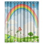 Color Color Color with Rainbow Shower Curtains