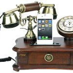 Funkish Retro Phone Charger for Vintage or Traditional Spaces!