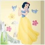 Funky Sweetness with Snow White Wall Graphics