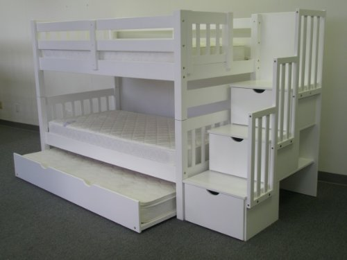 Stairway Twin Bunk Bed
