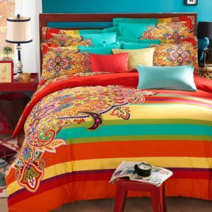 Funky Bright Colored Bedding