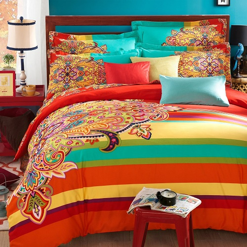 Funky bright colored bedding funk Funky bedroom accessories