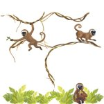 Funk'N Wild Jungle Tree Wall Decals