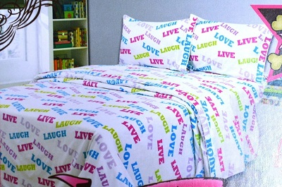 Funky Bedding Sets With Words Inspiration Fun Or Just