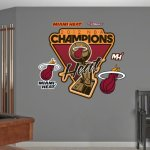 For Funk'N Fans! Miami Heat Wall Decals