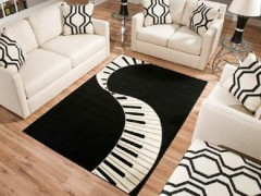 Funky Rugs for a Music Room
