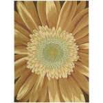 Funky Cheerful Sunflower Area Rugs
