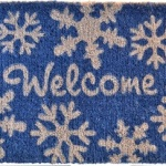 Funky Artsy Winter Themed Rugs