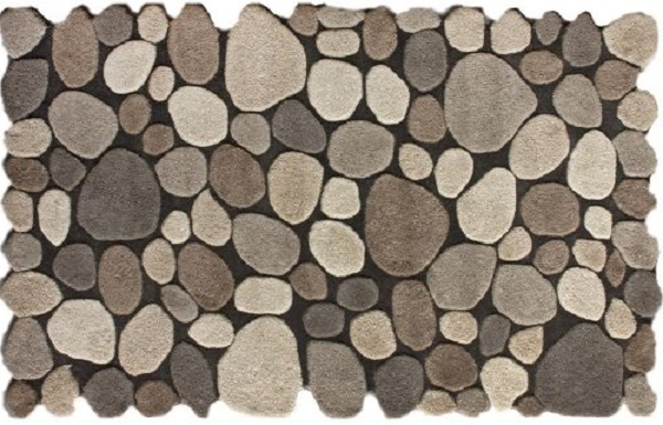 area rug that looks like stones funk this house funk this house. Black Bedroom Furniture Sets. Home Design Ideas