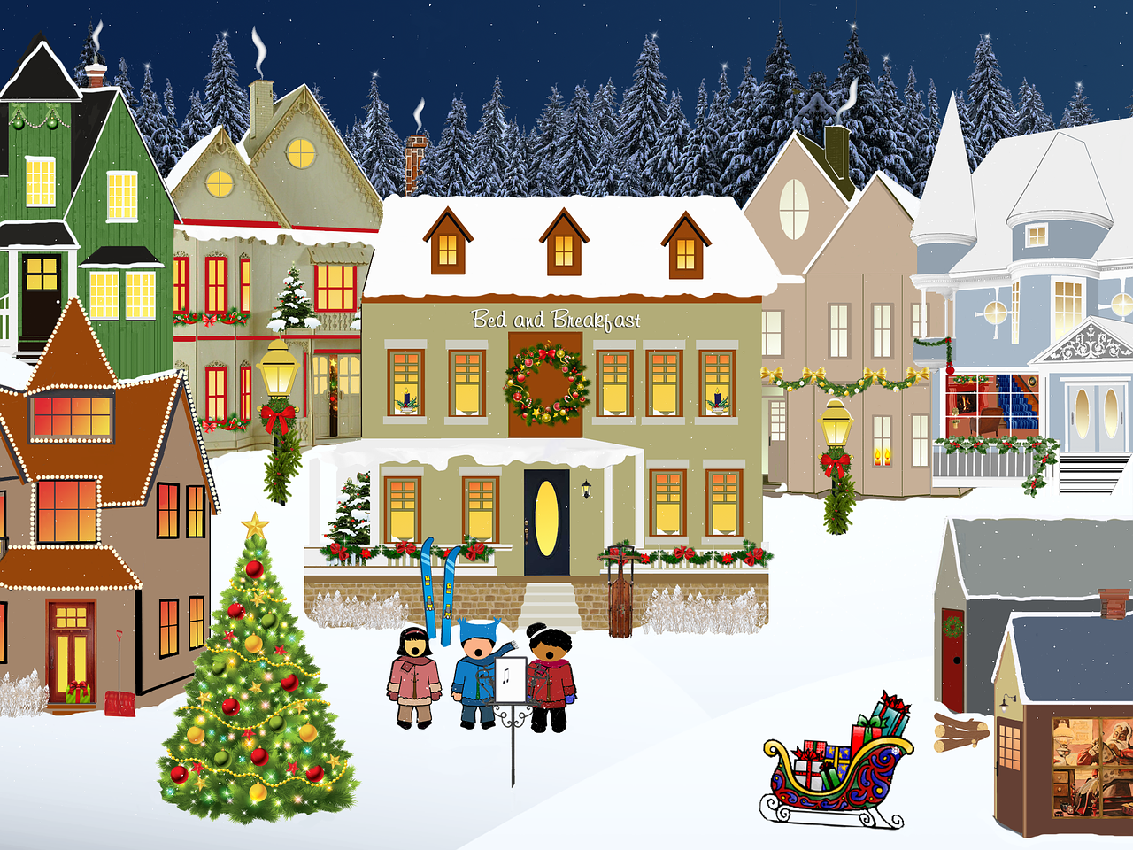 Dickens Christmas Village - Start with a Set, Collect Pieces