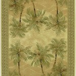 Casual Funk with Palm Tree Area Rugs