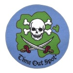 Pirate Time Out Rugs for Kids