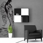 Inspirational Funk with Angel Wall Decals