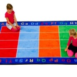 Education Combined with Fun by Using Learning Carpets