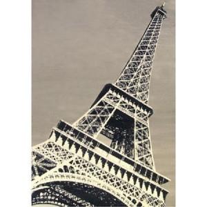 Eiffel Tower Area Rug