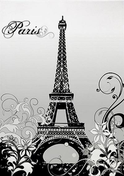 Paris Themed Area Rugs