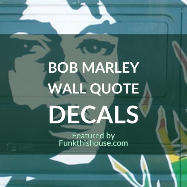 Bob Marley Wall Decals