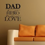 Dad Wall Quotes