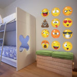Funk'N Happiness with Smiley Face Wall Decals