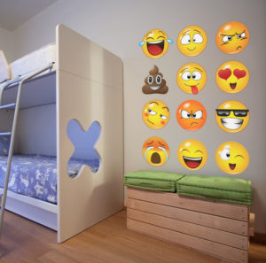 Emoji Wall Graphics