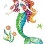 Funky Décor with Mermaid Wall Decals