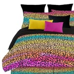 Funky Multi Colored Bedding