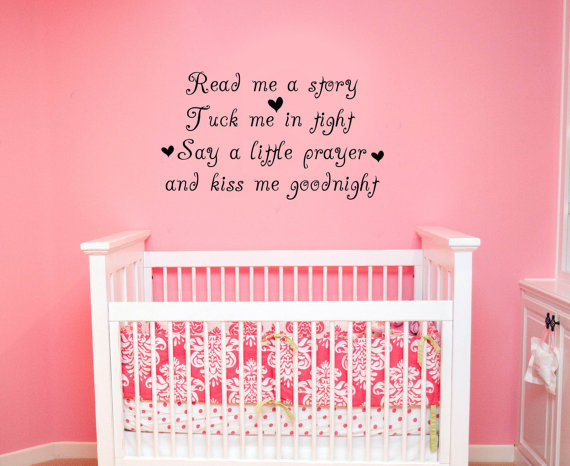 Nursery Rhyme Wall Decal