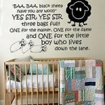 Nursery Rhyme Wall Quotes