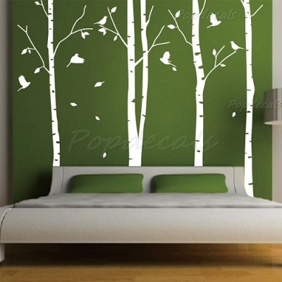 Funky White Tree Wall Decals Funk This House