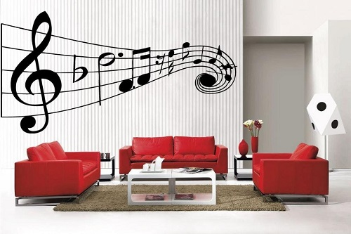 Funky Music Wall Decals – Music Quotes