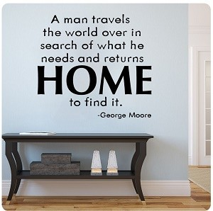 Wall Quotes about Men