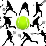 Funky Tennis Wall Graphics